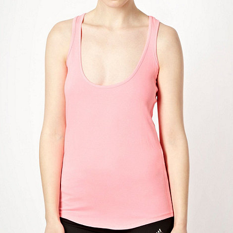 Elle Sport - Bright pink racer back vest