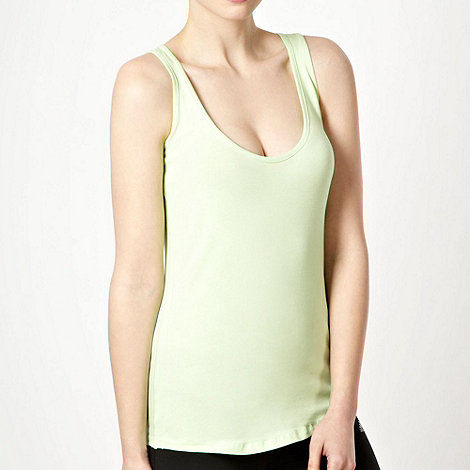 Elle Sport - Light green racer back vest