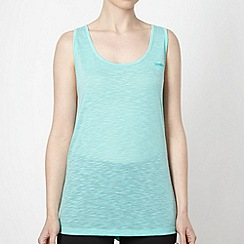 Reebok - Light green textured tank top