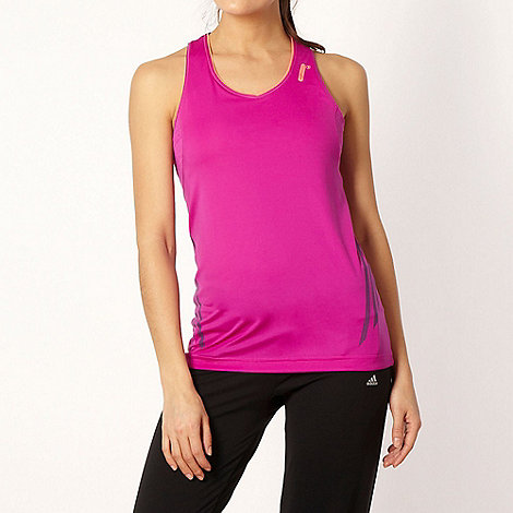 adidas - Light purple bust support vest top