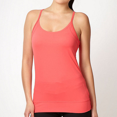 adidas - Coral fitted vest top