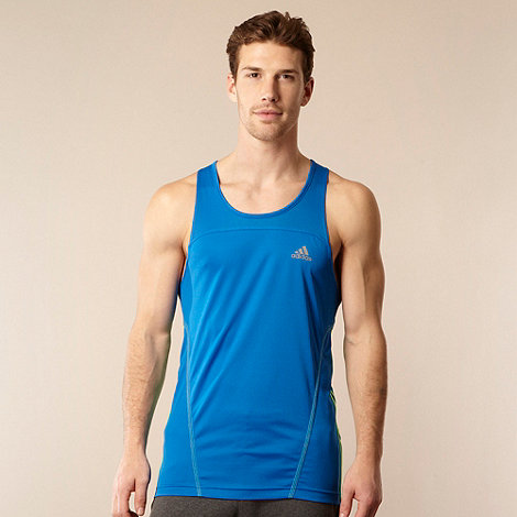 adidas - Blue training vest top