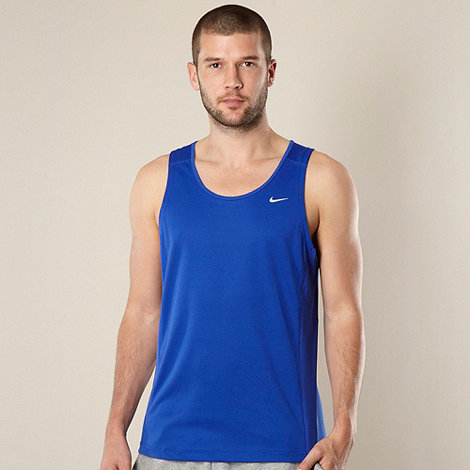 Nike - Blue +Miler+ vest