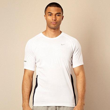 Nike - White +Miler+ t-shirt
