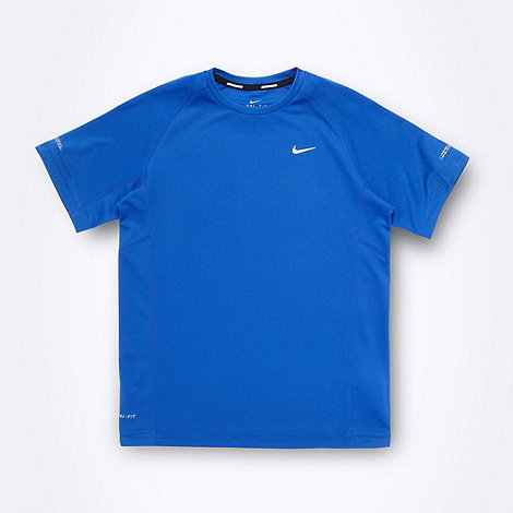Nike - Boy+s blue +Miler+ t-shirt