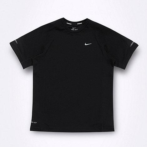 Nike - Boy+s black +Miller+ t-shirt