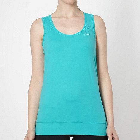 Reebok - Turquoise scoop neck tank top