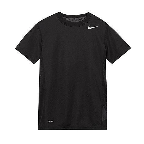 Nike - Boy+s black +Speed Fly+ t-shirt