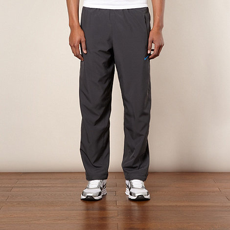 Nike - Dark grey +Speed+ jogging bottoms