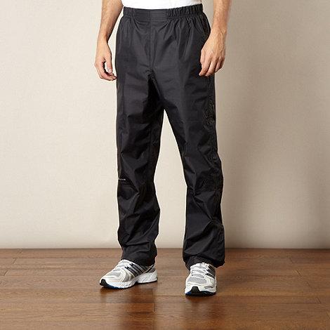 Berghaus - Black waterproof zip trousers