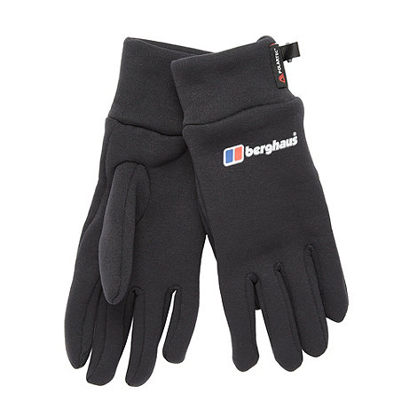 Berghaus - Black powerstretch gloves