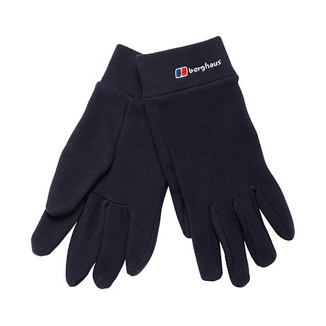 Berghaus - Navy fleece gloves