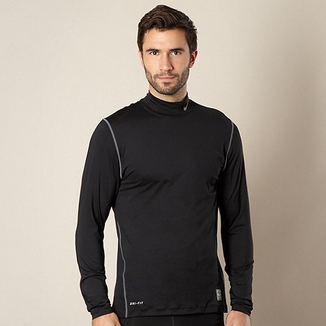 Nike - Black long sleeve under layer top