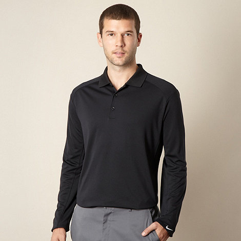 Nike - Black +Victory+ polo top