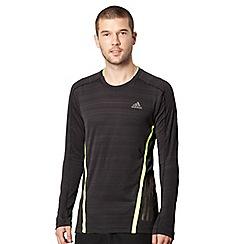 adidas - Black long sleeved running top