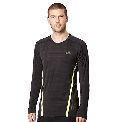 adidas - Black long sleeved running top