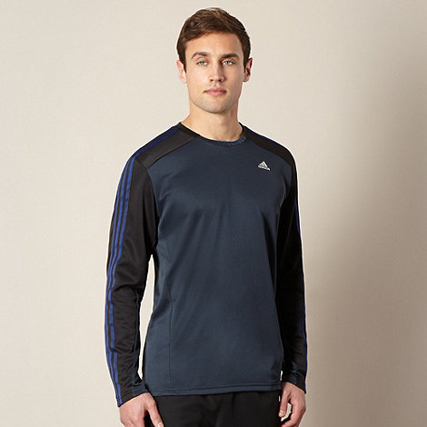 adidas - Black long sleeved thermal top