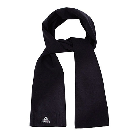 adidas - Black knitted scarf