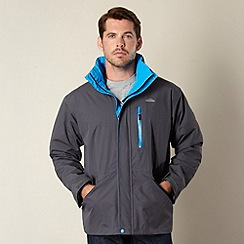 Trespass - Grey funnel neck outdoor jacket