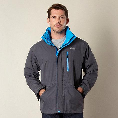Trespass - Grey funnel neck outdoor jacket