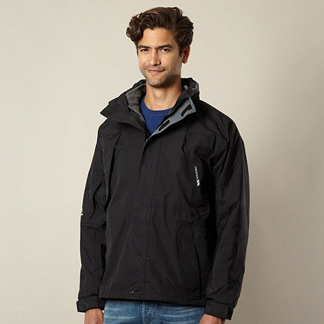 Trespass - Black waterproof jacket