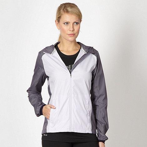 Nike - Lilac grid panel jacket