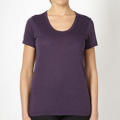 Nike - Purple loose fit scoop neck top
