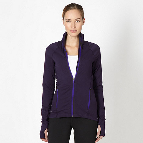 Nike - Purple 'Considered' zip through jacket