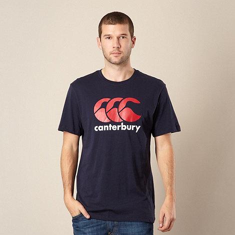 Canterbury - Navy logo t-shirt