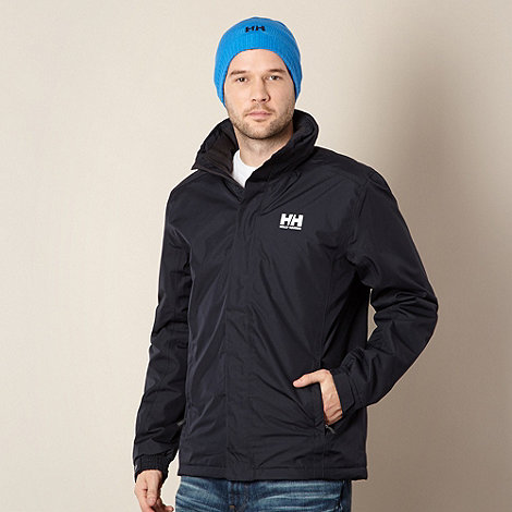 Helly Hansen - Dark blue quilted jacket and beanie