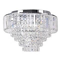 Home Collection - Sophia Crystal Glass Flush Light