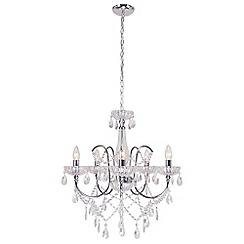 Home Collection - Crystal 'Charlotte' chandelier