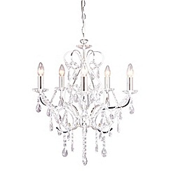 Home Collection - Avery Crystal Glass Chandelier Light
