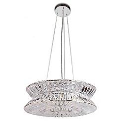 Home Collection - Sofia Crystal Glass Pendant Light