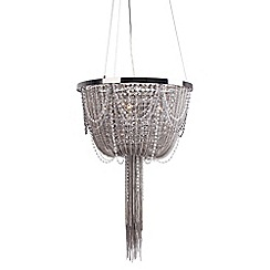 Home Collection - 'Scarlett' black chandelier