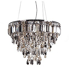 Home Collection - Metal and glass 'Addison' pendant ceiling light