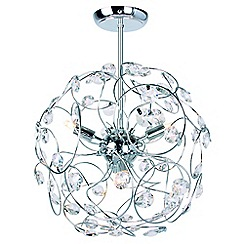 Home Collection - 'Hannah Sputnik' flush ceiling light