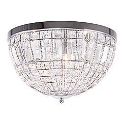 Home Collection - Isabella Crystal Glass Flush Light