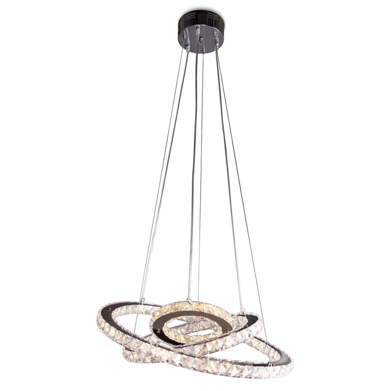 Stella Crystal Glass Led Pendant Light