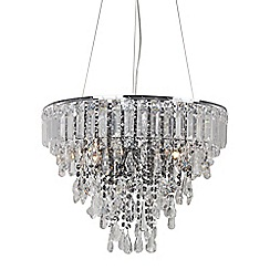 Home Collection - Addison Crystal Glass Pendant Light