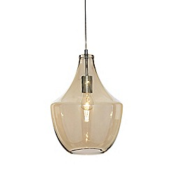 Home Collection - Aurora Champagne Glass Pendant Light