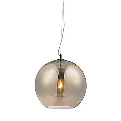 Home Collection - Maria Champagne Glass Pendant Light