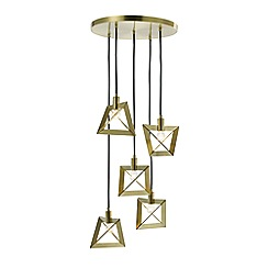 Home Collection - Tyler Gold Metal Cluster Light