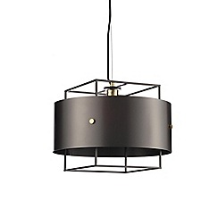Home Collection - Reagan Black Metal Pendant Light