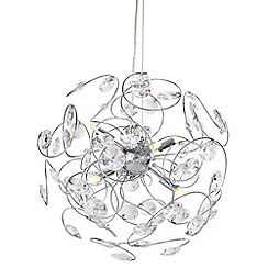 Home Collection - Hannah Crystal Glass Pendant Light