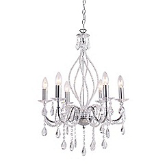 Home Collection - Hailey Crystal Glass Chandelier Light