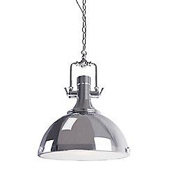 Home Collection - 'Evan' chrome pendant ceiling light
