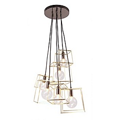 Home Collection - Gold 'Harrison' cluster ceiling light