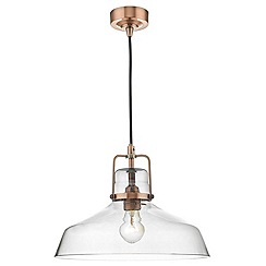 Home Collection - Copper 'Miles' pendant ceiling light