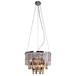 Home Collection - Crystal glass 'Evie' pendant ceiling light